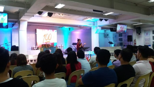 Preaching at Lifeline!